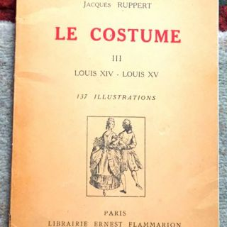 Le costume, Jacques Ruppert, 1942
