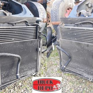 Radiator+ intercooler MAN TGL 10.240