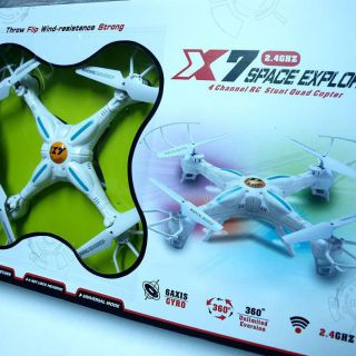 Drona X7 Explorer 2 4Ghz Quadcopter 4CH cu camera video