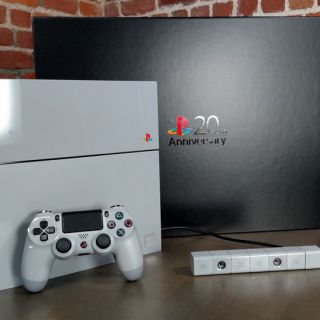 Sony PlayStation 4 a 20-a aniversare Limited Edition 500 GB Gray Console Rare